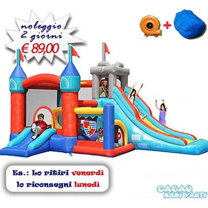 Noleggio Gonfiabile Medioevo 13 Giochi in 1