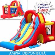 MEGA SCIVOLO - Castello gonfiabile con scivolo gonfiabile grandi