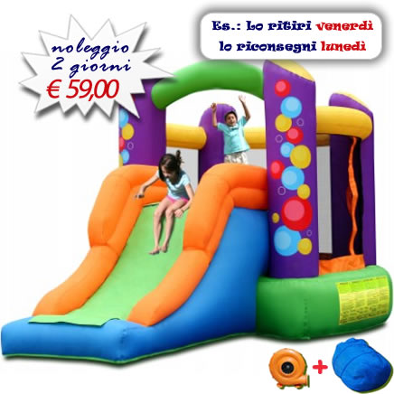 Noleggio Castello Gonfiabile Balloon