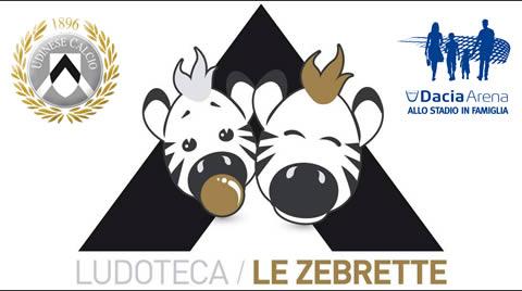 Ludoteca Le Zebrette presso Dacia Arena stadio Friuli a UDINE