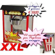 Affitto-Noleggio Macchina Pop Corn - Macchina Dolciaria