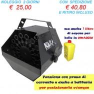 Macchina elettrica Spara Bolle di sapone - Professionale