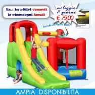 Affitto-Noleggio Gonfiabile 6 in 1 Super Scivolo