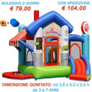 AFFITTO-NOLEGGIO CASTELLO GONFIABILE HAPPY STORE