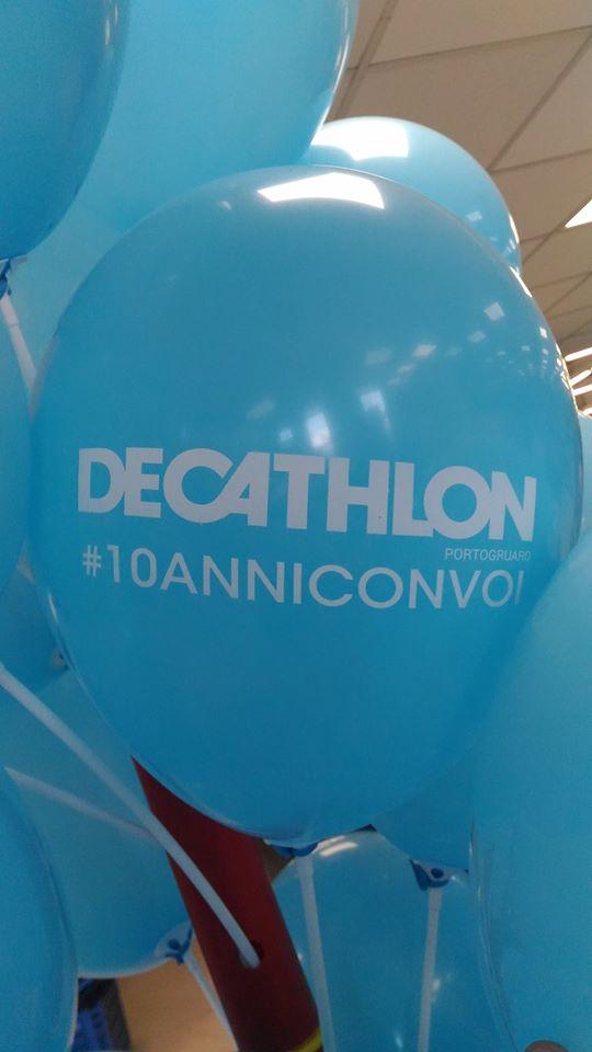 palloncini per attività commerciale - decathlon