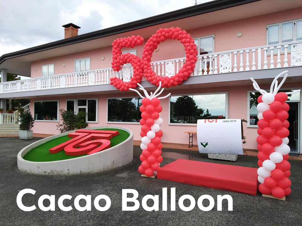 palloncini attività commerciali - 50 anni di attività Termoidraulica Nosella c