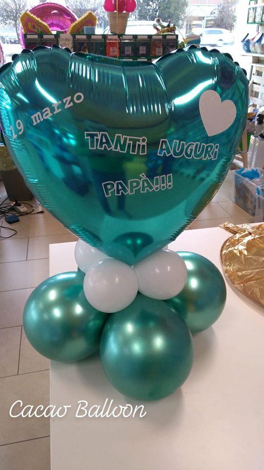 palloncini festa del papà a