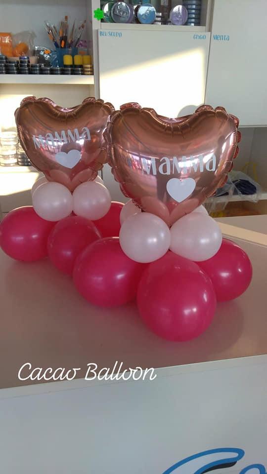 palloncini festa della mamma cuori piccoli