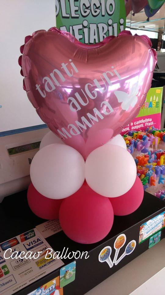 palloncini festa della mamma cuori