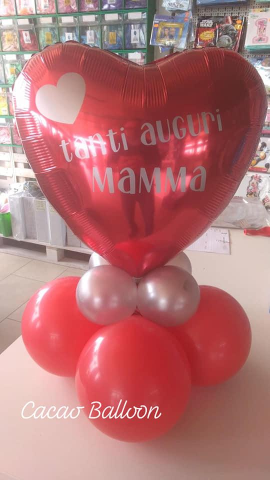 palloncini festa della mamma