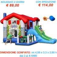 Noleggio Gonfiabile Big House