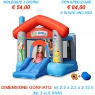 Noleggio Castello Gonfiabile Fun House