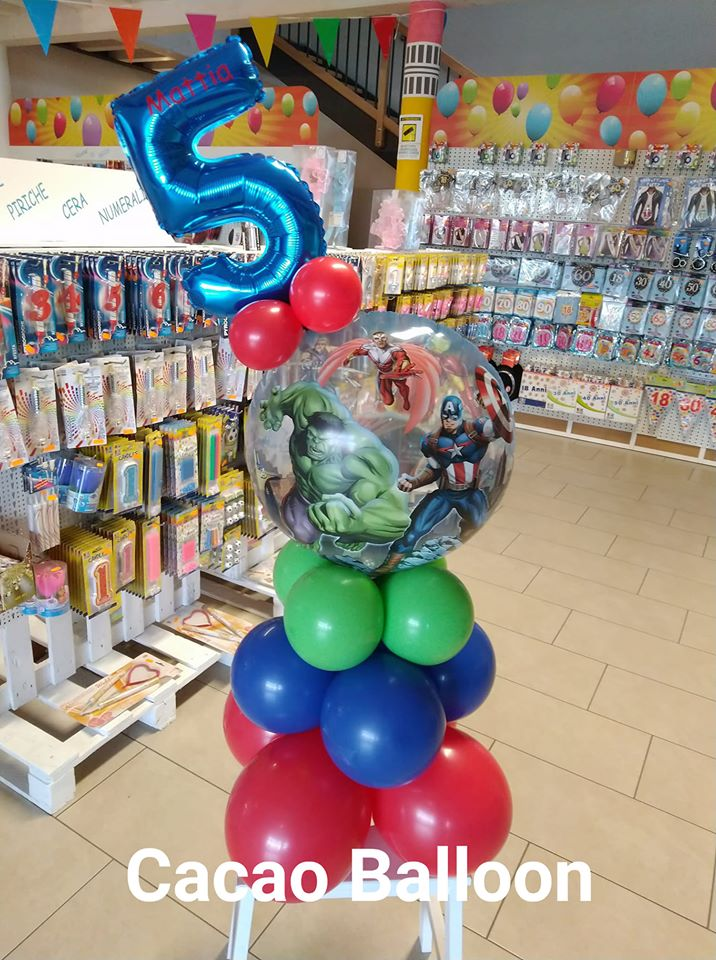 palloncini compleanno - avengers