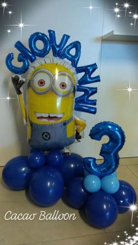 palloncini compleanno - minions