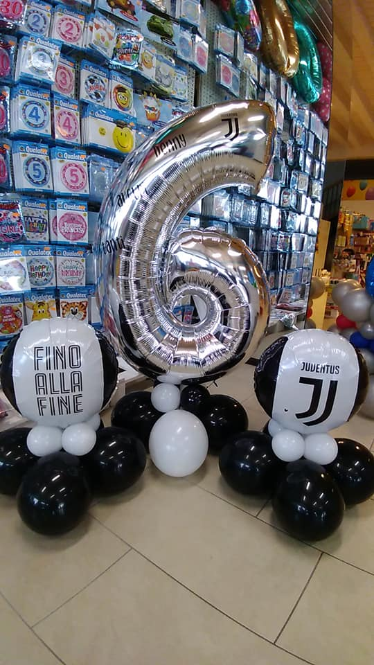 palloncini compleanno - juventus