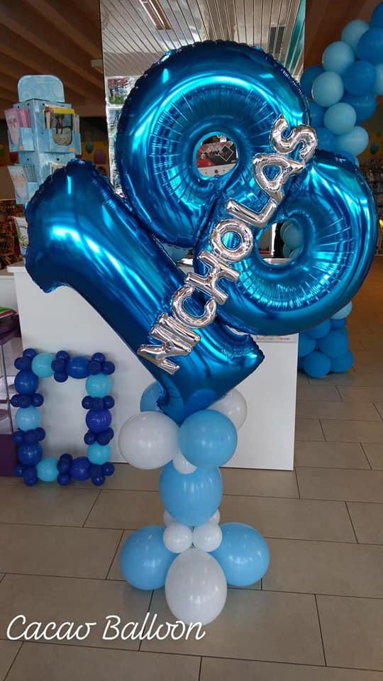 palloncini 18 anni numeroni aria
