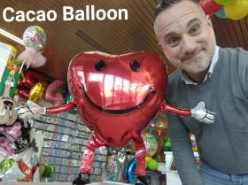 palloncini San Valentino - cuore che sta in piedi