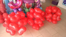 palloncini amore - San Valentino cuori