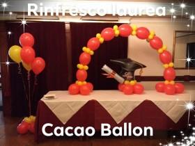 palloncini arco laurea