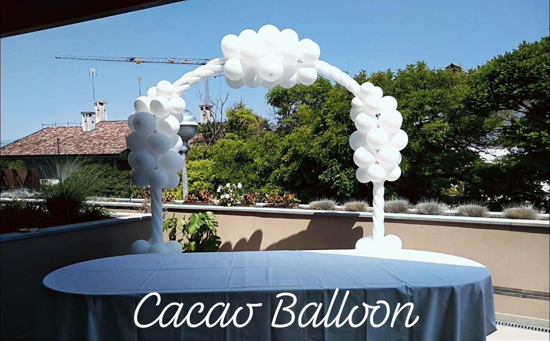 palloncini arco matrimonio