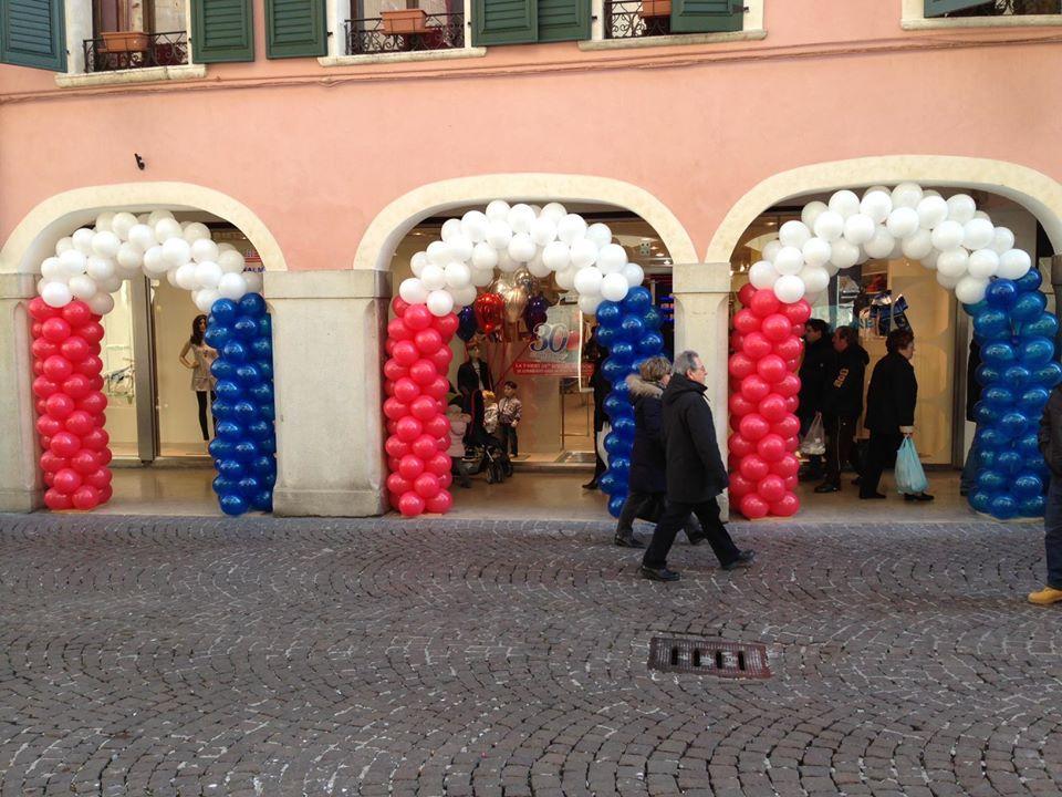 palloncini attività commerciali - original marines archi