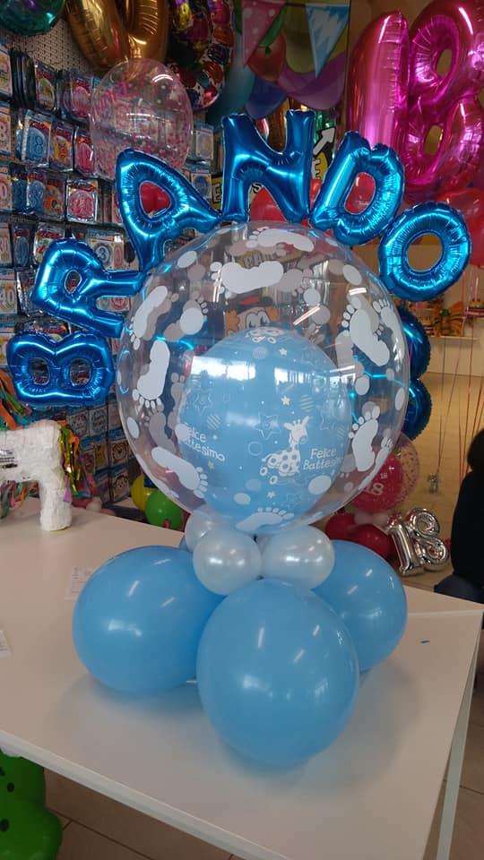 palloncini battesimo bimba