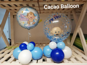 palloncini battesimo bimbo a