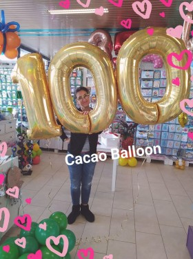 palloncini compleanno - 100 anni