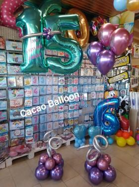 palloncini compleanno - 15 anni