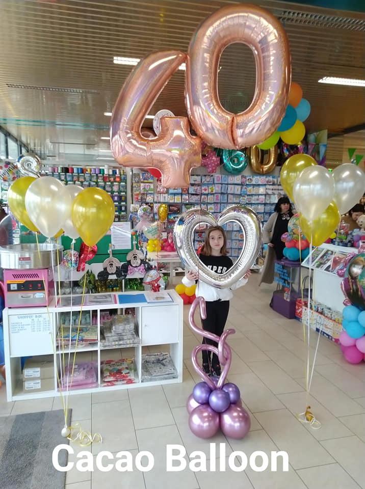 palloncini compleanno - 40 anni a