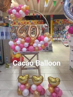 palloncini compleanno - 40 anni
