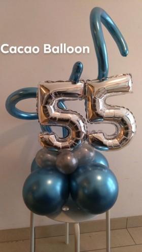 palloncini compleanno - 55 centrotavola