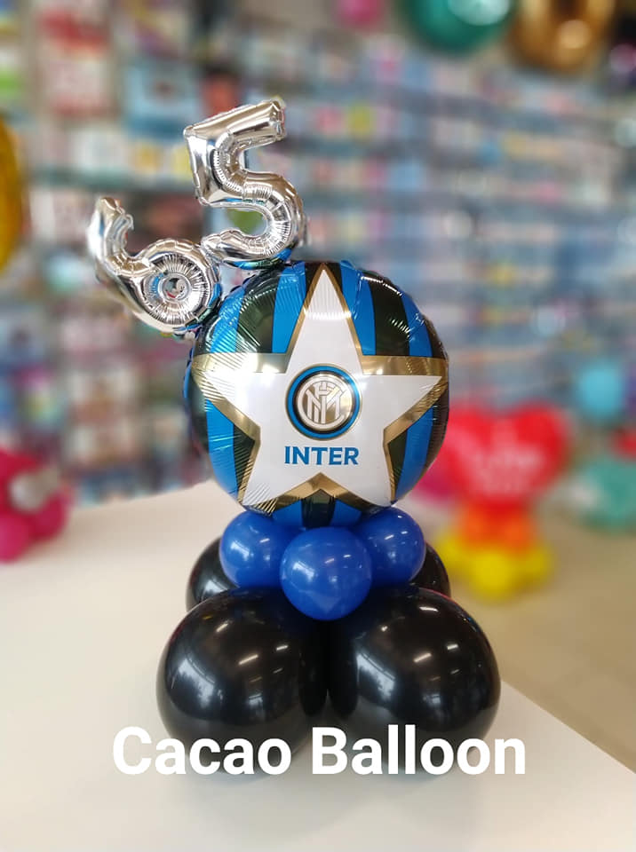 palloncini compleanno - 65 anni inter