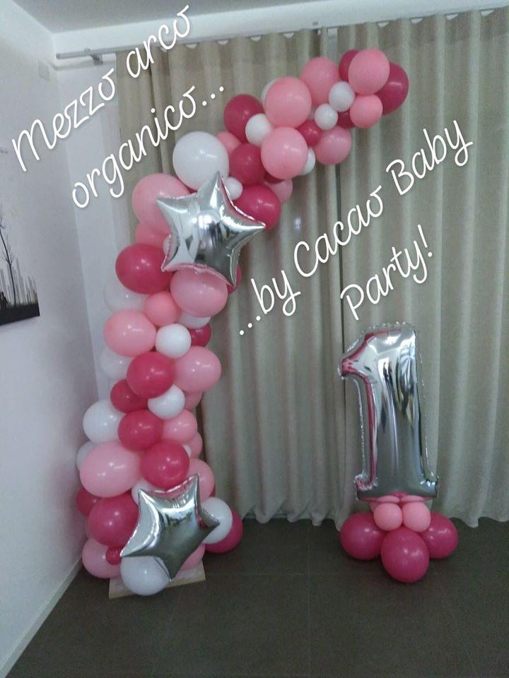 palloncini compleanno arco organico