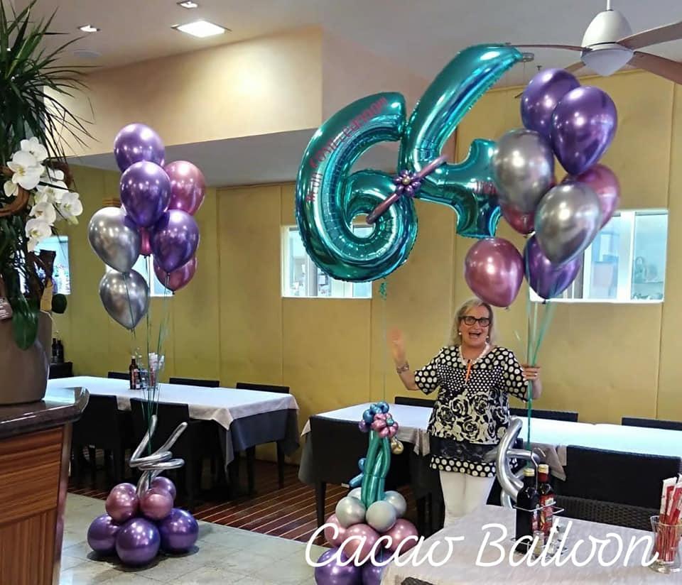 palloncini compleanno cromati
