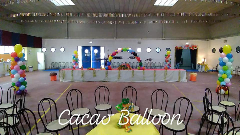 palloncini coreografia Ballo Rizzetto