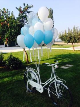 palloncini matrimonio elio con messaggio